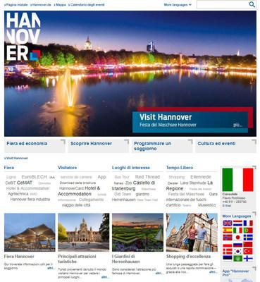 Visit-Hannover.com - La nuova presenza internazionale di Hannover sul web!