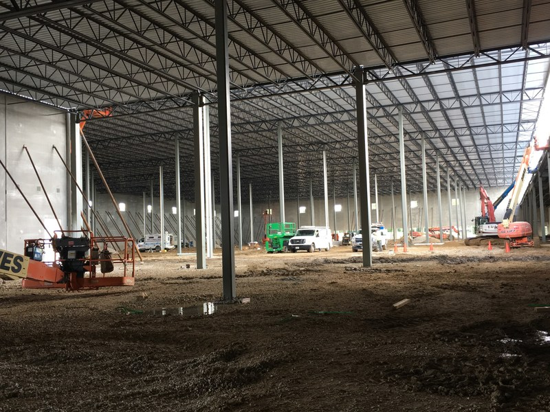 Inside the new warehouse expansion