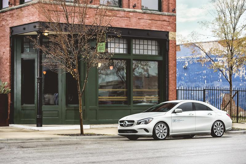 Les nouveaux véhicules CLA et GLA 2018 de Mercedes-Benz car2go font leur entrée à Montréal (Groupe CNW/car2go)