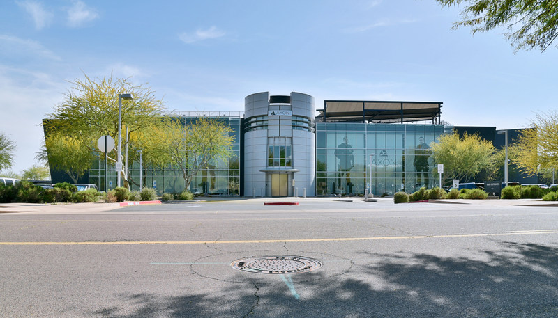 Axon (Nasdaq: AAXN) headquarters in Scottsdale, AZ, USA.