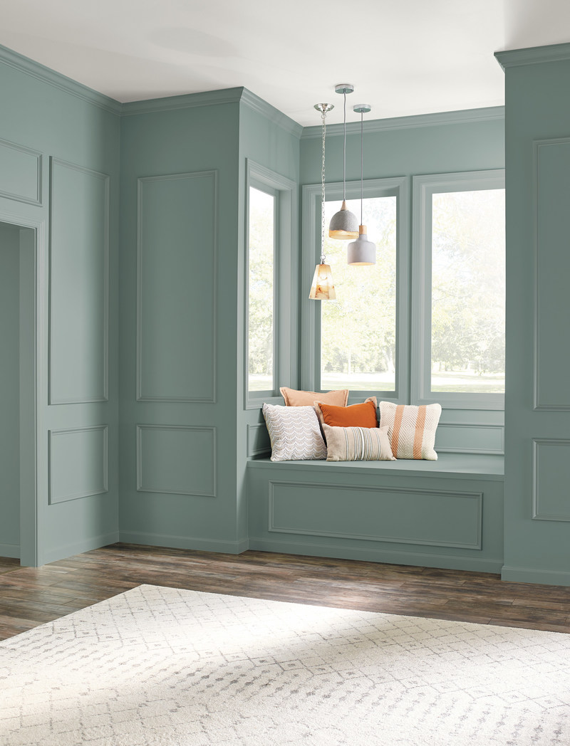 behr paint reveals 2018 color of the year in the moment. Black Bedroom Furniture Sets. Home Design Ideas