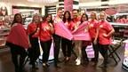 L'équipe de Benefit Canada célèbre le programme « Bold is Beautiful » chez Sephora. (Groupe CNW/Benefit Cosmetics)