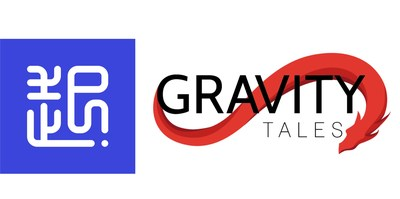 Qidian International & Gravity Tales Logos (PRNewsfoto/Qidian International)