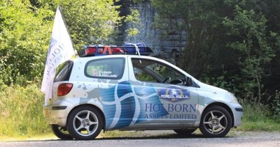 Holborn Assets interns take part in the Mongol Rally (PRNewsfoto/Holborn Assets)