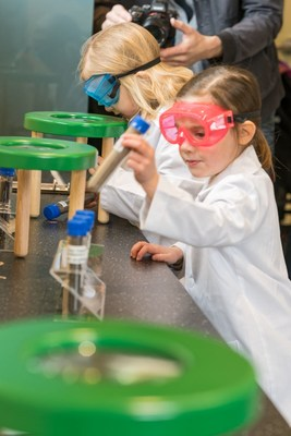 Fertilizer Canada is proud to have partnered with the Canada Agriculture and Food Museum to create their new Soil Lab Discovery Zone, where youth can learn about soil as the overlooked foundation of agriculture. (CNW Group/Fertilizer Canada)