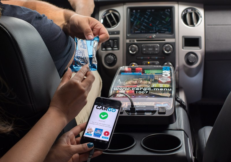 Snacks can now be enjoyed in your next ride share