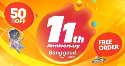 11o. Aniversário da Banggood (PRNewsfoto/Banggood Technology CO, Limited)