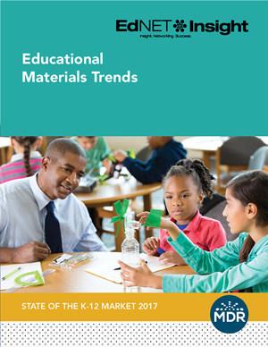 MDR, EdNET Insight K-12 Market Report 2016-17 Educational Materials Trends
