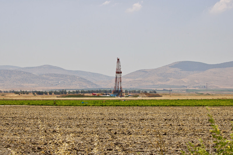 Zion's Megiddo-Jezreel #1 well drillsite in Israel.