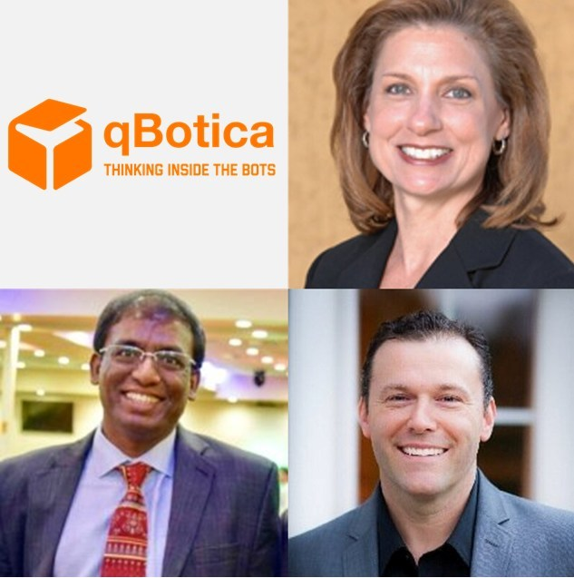 qBotica's leadership team has the right mix of Management, Business Operations, Marketing, Sales and Technology experience