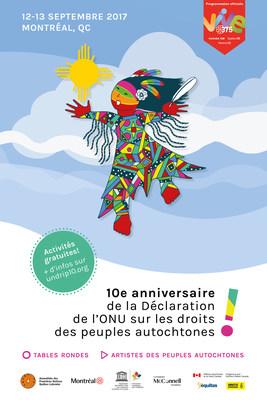 Célébration du 10e anniversaire de la Déclaration des Nations Unies sur les droits des peuples autochtones (Groupe CNW/Ville de Montréal - Cabinet du maire et du comité exécutif)
