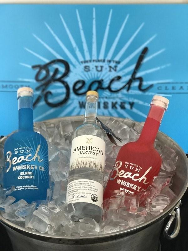 Beach Whiskey & American Harvest