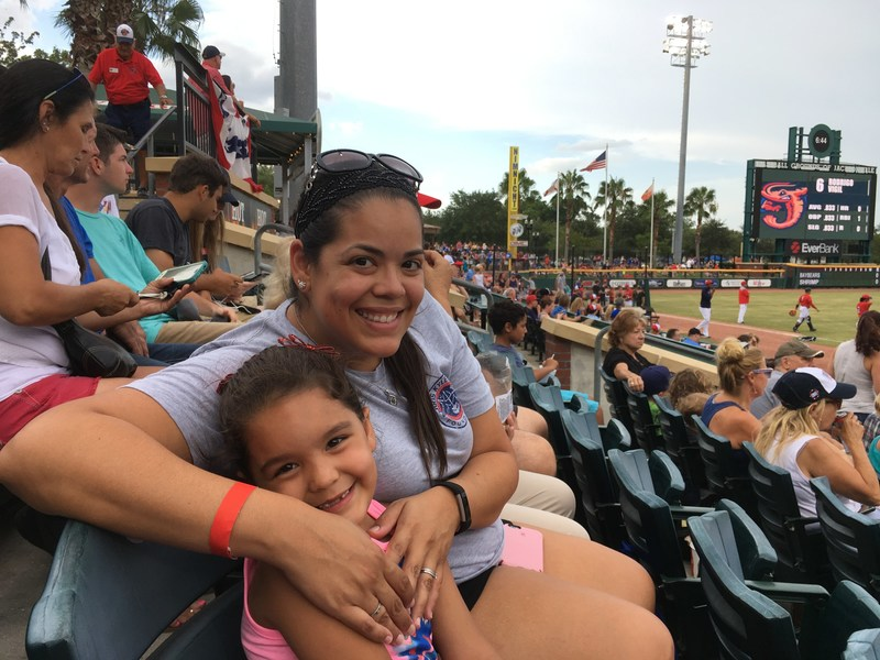 The Jacksonville Jumbo Shrimp recently welcomed warriors and family members served by Wounded Warrior Project® (WWP) for a night of baseball, fireworks, and camaraderie.