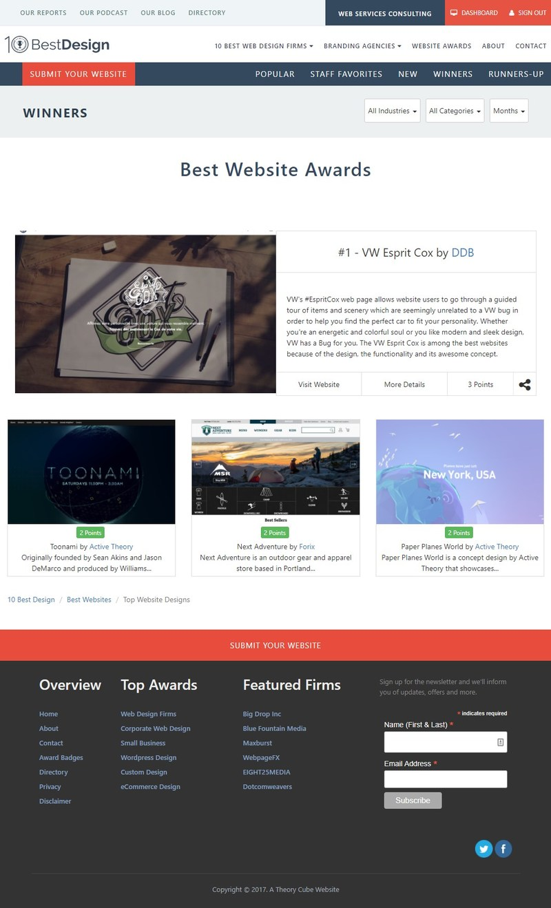 Best Website Awards