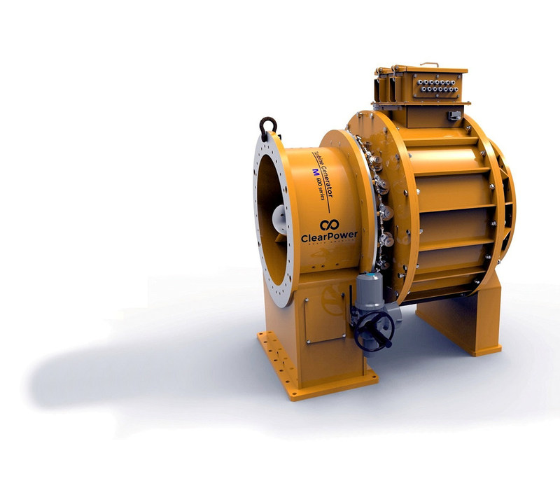 ClearPower's  Industrial Turbine Generator for the mining industry, the ITG-M Series.