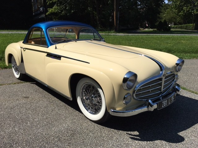 David Disiere will enter this rare 1952 Delahaye 235 Coupe in the 2017 Pebble Beach Concours d'Elegance.  This car is one of only three built by Henri Chapron.