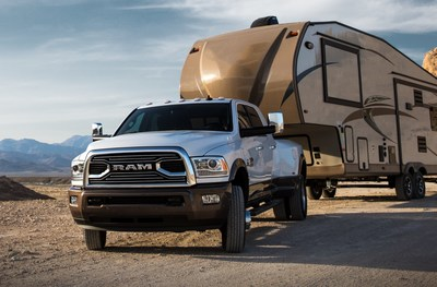 Ram Truck Reveals the Most Powerful Pickup - 2018 Ram 3500 Heavy Duty Launches with Chart-Topping Capabilities: Highest Available Fifth-Wheel Towing and Record-Setting 930 lb.-ft. of Torque