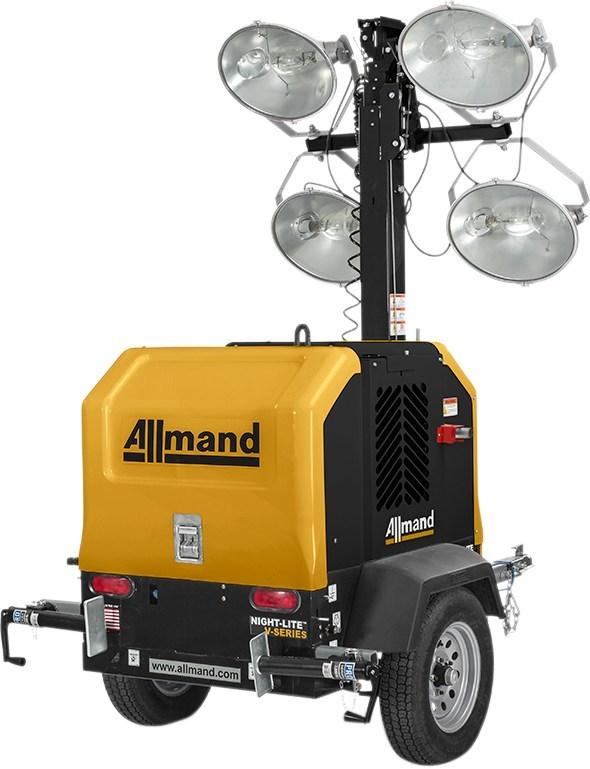 Allmand® Introduces Night-Lite™ V Series Rental-Grade Light Tower
