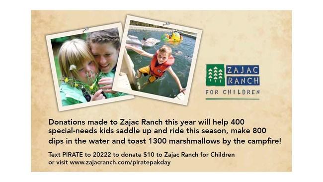 Zajac Ranch for Children (CNW Group/White Spot Restaurant)