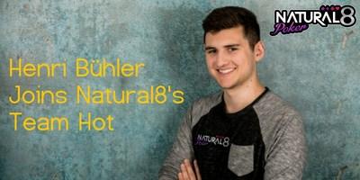 Henri Bühler joins team Natural8!