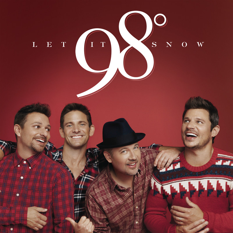 98° TO RELEASE NEW CHRISTMAS ALBUM LET IT SNOW ON OCTOBER 13 AND EMBARK ON THEIR FIRST EVER 31-DATE CHRISTMAS TOUR NOVEMBER 10 TICKETS GO ON SALE FRIDAY, AUGUST 18