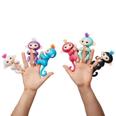 Fingerlings™ Baby Monkeys by WowWee, it's Friendship @ Your Fingertips!