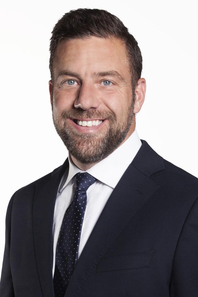 Martin Tremblay, Chef de l''exploitation du Groupe Sports et divertissement de Québecor (Groupe CNW/Québecor)