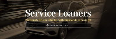 Service loaners at Mercedes-Benz of Kansas City can provide luxury shoppers a nearly-new vehicle with competitive lease and financing pricing.