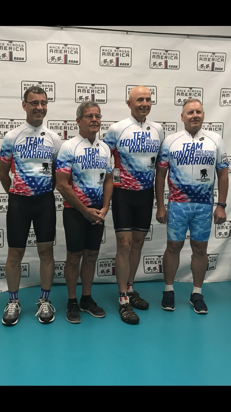 Randy Horton and his team completed the 2017 Race Across America to raise awareness and support for Wounded Warrior Project® (WWP) and the warriors it serves.