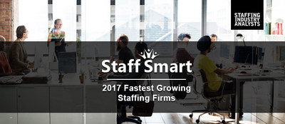 Staff Smart Named to SIA Top Staffing Firms of 2017