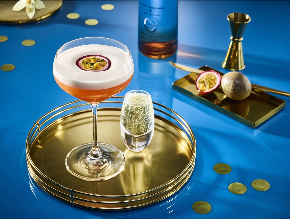 The CIROC-Star Martini made with CIROC French Vanilla (PRNewsfoto/Diageo)