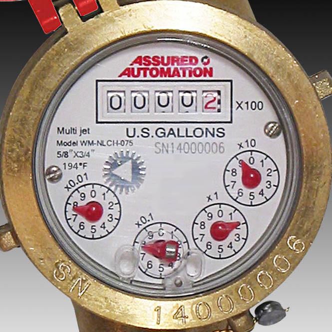Meter for Hot Water Submetering