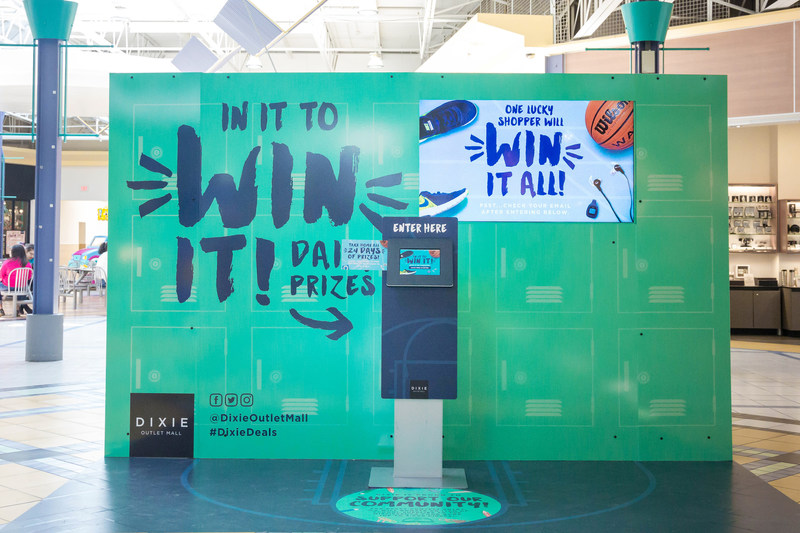Dixie Prize Locker (CNW Group/Dixie Outlet Mall)