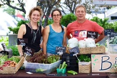 C'est aujourd'hui que débutent les festivités de la Semaine québécoise des marchés publics, présentée par l'AMPQ et l'UPA. (Groupe CNW/Association des Marchés publics du Québec (AMPQ))