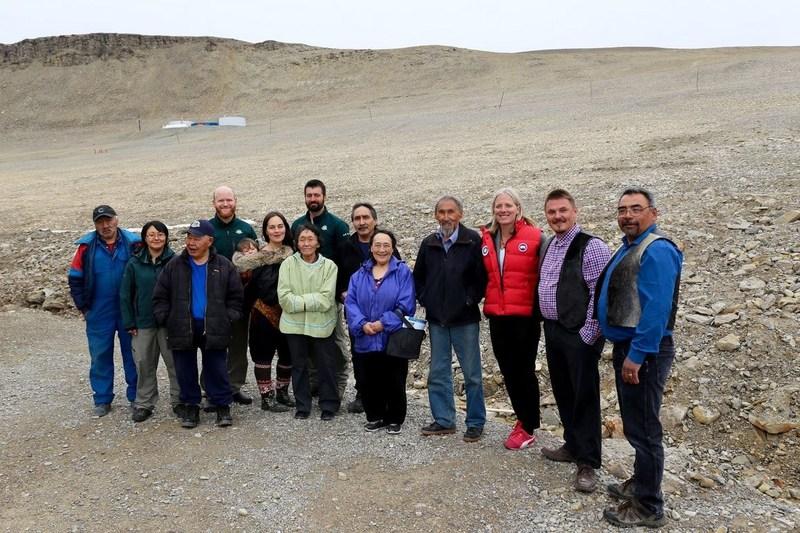 Inauguration du Parc national Qausuittuq le 10 août (Groupe CNW/Parcs Canada)