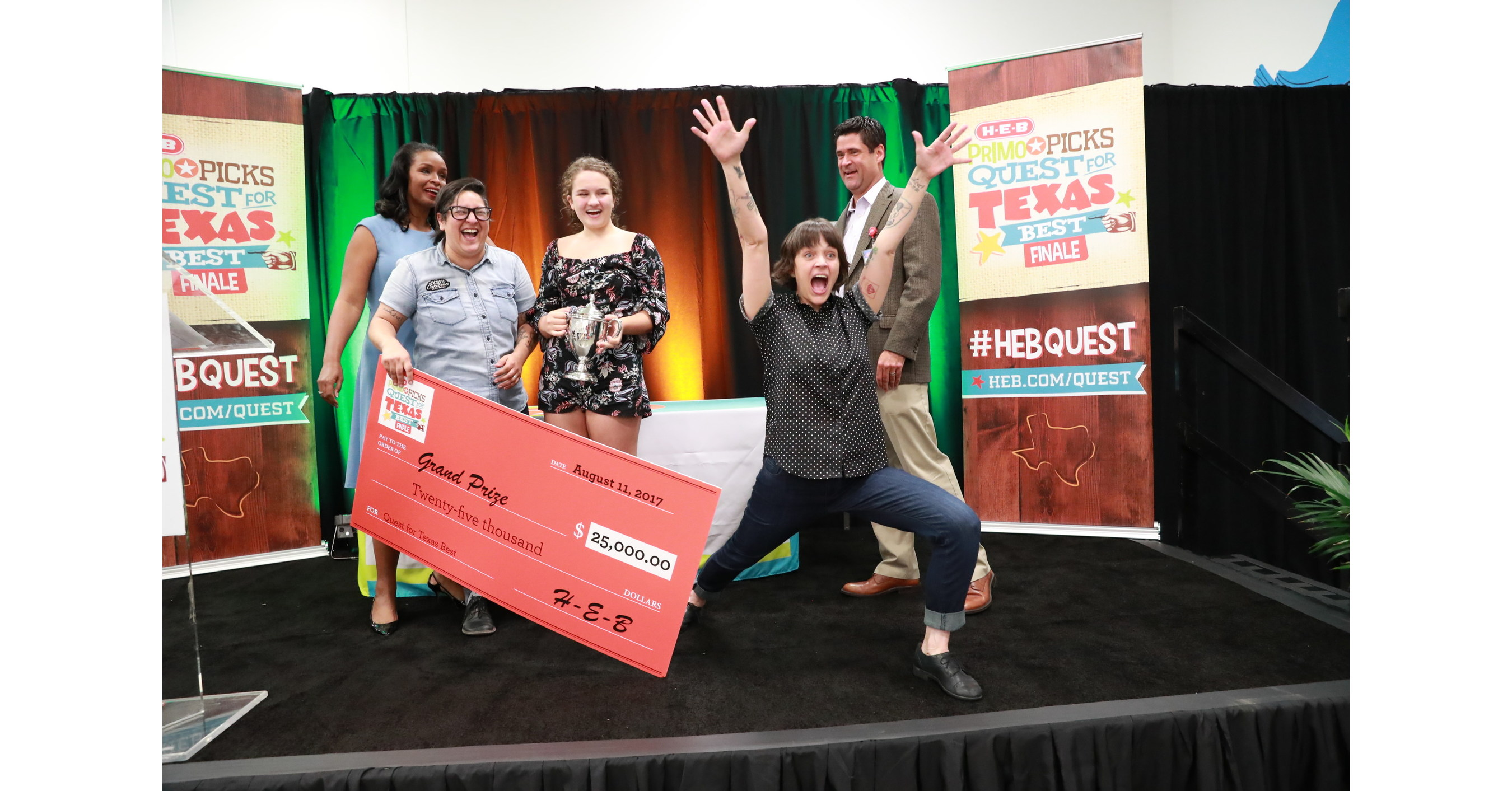 a capital win for five h e b quest for texas best competitors
