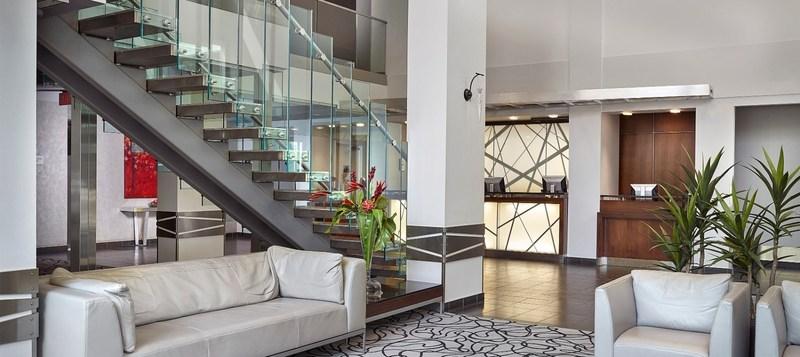 Hall de l'hôtel Matrix