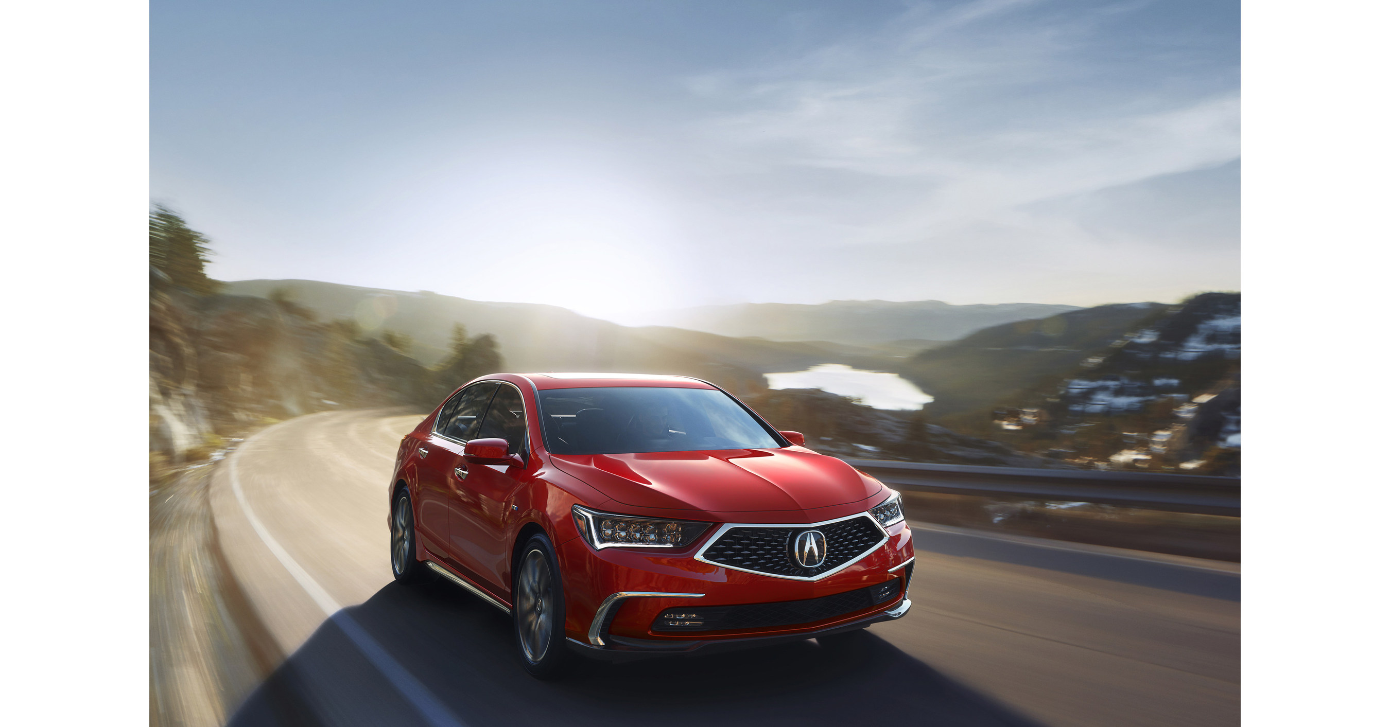 Acura to unveil redesigned 2018 rlx and new arx 05 prototype race car at monterey automotive week