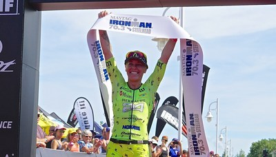 Herbalife Nutrition congratulates its sponsored triathlete Heather Jackson on her IRONMAN 70.3 Steelhead win at Benton Harbor, Michigan, a step closer to the IRONMAN World Championship in Kailua-Kona, Hawaii next month.