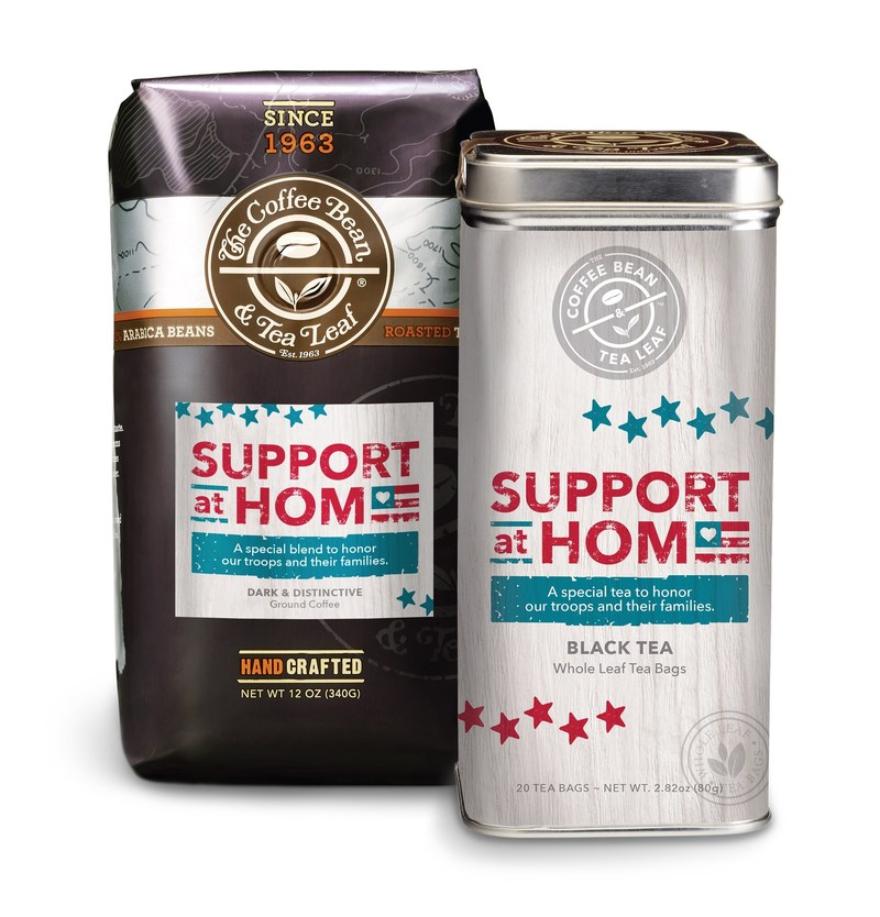 Support at Home Coffee and Support at Home Tea