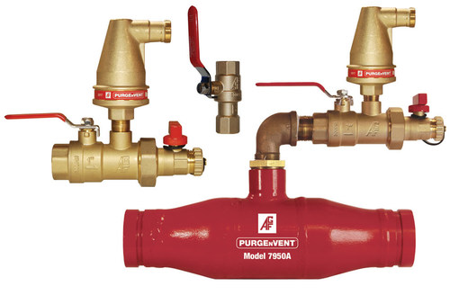 AGF PURGENVENT Air Venting Valves help reduce corrosion and meet and/or exceed the new venting requirements established in NFPA 13 (2016).