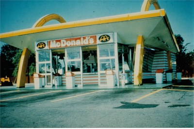 The first-ever McDonald's restaurant outside the U.S., opened in 1967, located at 7120 No. 3 Road in Richmond, B.C. (CNW Group/McDonald's Canada)