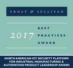 Frost & Sullivan Recognizes Mocana's IoT Security Platform Product Leadership for Industrial Manufacturing and Automation