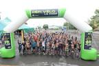 Les participants de la 4e édition du Défi Vélo La Coop qui s'est tenu ce weekend dans la région de Rimouski (Groupe CNW/La Coop fédérée)