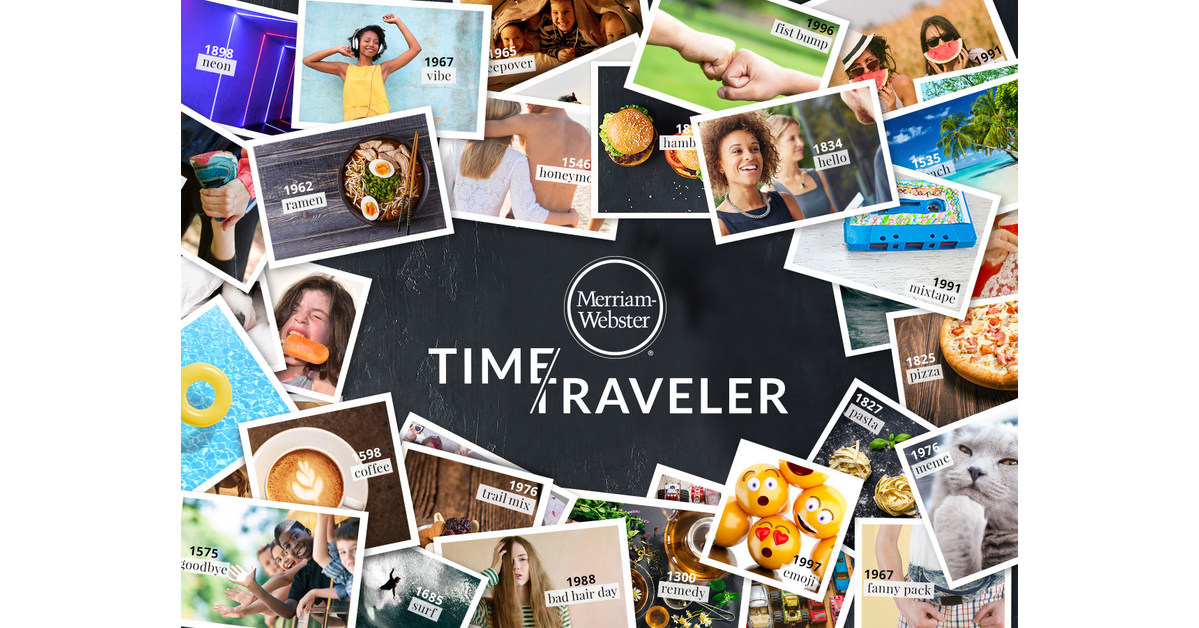 travel in time merriam webster