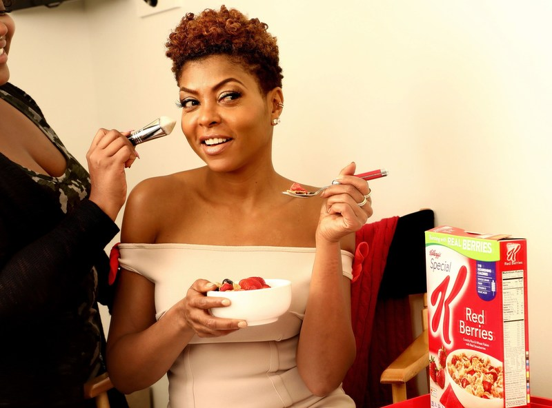 Taraji P. Henson teams up with Kellogg's Special K to rally women to eat with confidence and stop second-guessing their food choices