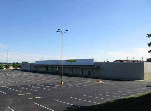 U-Haul® corporate sustainability initiatives are being applied through the adaptive reuse of the former Kmart® department store at the North Point Mall in Baltimore.