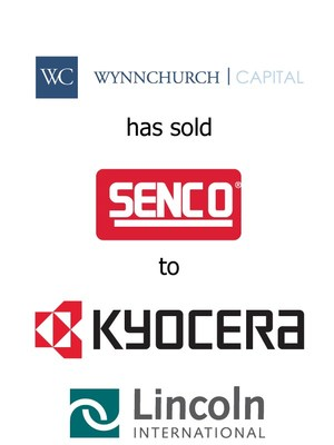 Lincoln International Represents Wynnchurch in its Sale of Senco to Kyocera