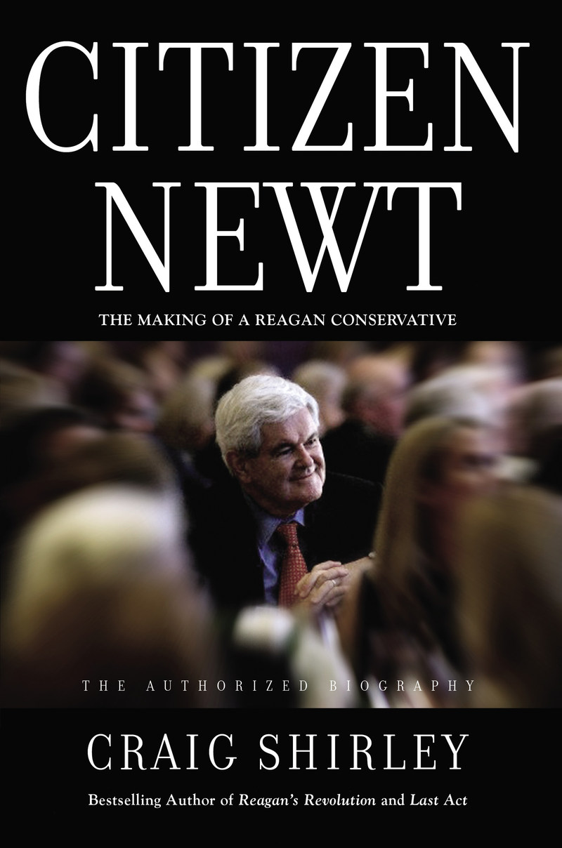 DEFINITIVE, AUTHORIZED BIOGRAPHY OF NEWT GINGRICH RELEASING THIS MONTH. One of the most influential political figures in America captured in New York Times bestselling author Craig Shirley's latest book CITIZEN NEWT (Thomas Nelson, ISBN: 9781595554482). On sale August 29, 2017.