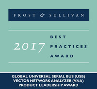 Frost & Sullivan recognizes Copper Mountain Technologies with the 2017 Global Product Leadership Award.